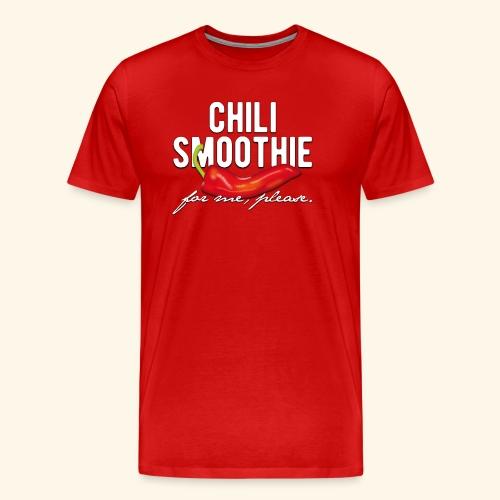 Chili Pepper T-Shirt Chili Smoothie - Männer Premium T-Shirt