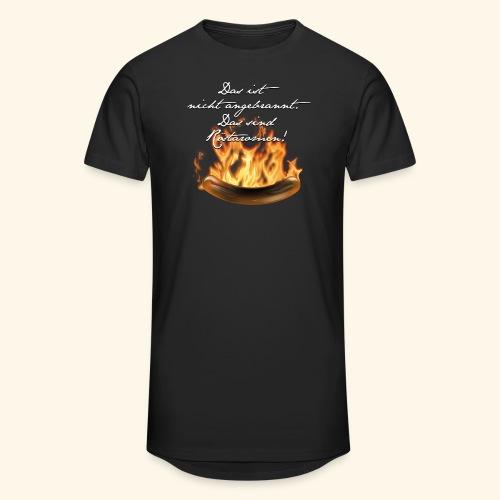 lustiges Grill-T-Shirt Röstaromen - Männer Urban Longshirt