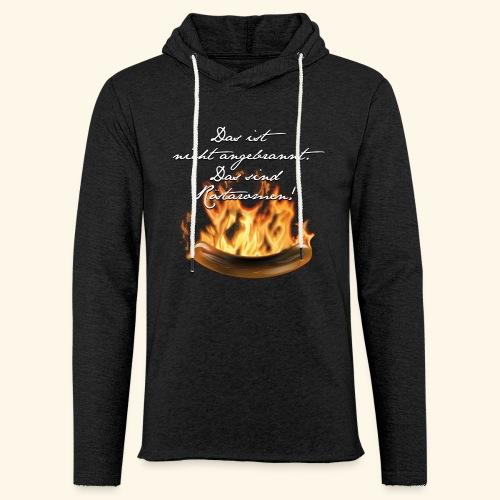 lustiges Grill-T-Shirt Röstaromen - Leichtes Kapuzensweatshirt Unisex