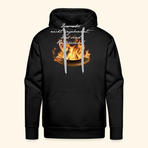 lustiges Grill-T-Shirt Röstaromen - Männer Premium Hoodie
