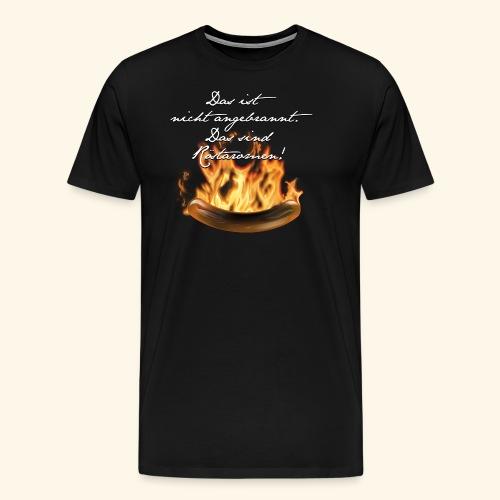 lustiges Grill-T-Shirt Röstaromen - Männer Premium T-Shirt