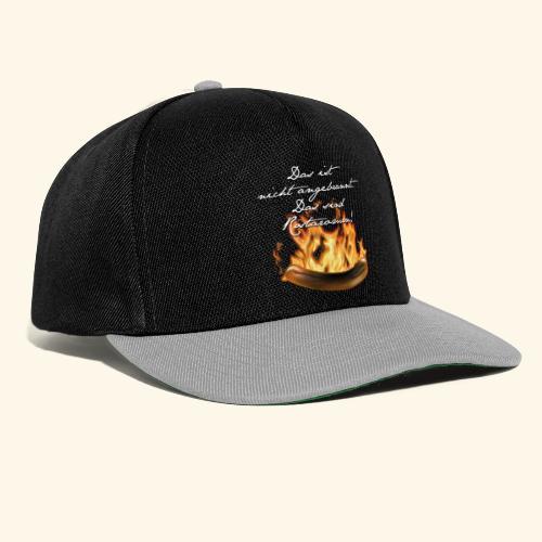 lustiges Grill-T-Shirt Röstaromen - Snapback Cap