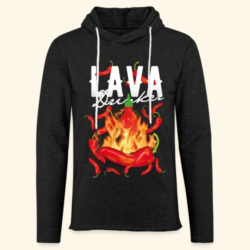 Chili T-Shirt Lava Drinker - gift idea! - Leichtes Kapuzensweatshirt Unisex