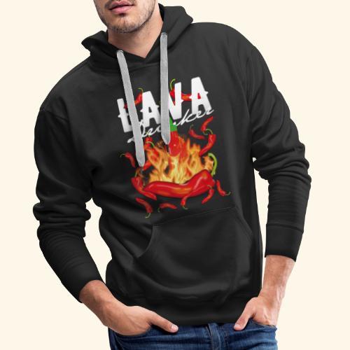 Chili T-Shirt Lava Drinker - gift idea! - Männer Premium Hoodie