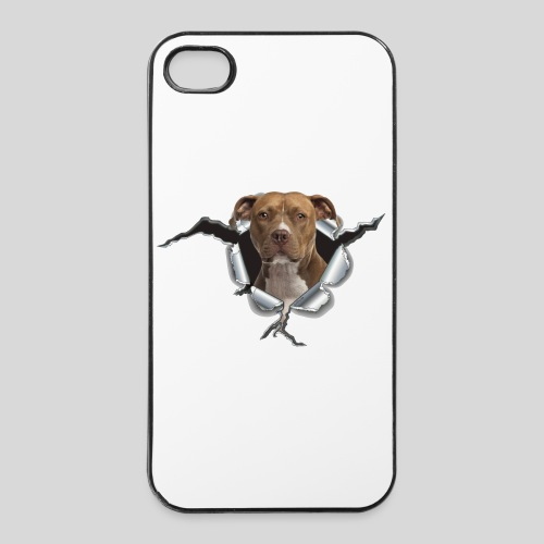 American Staffordshire Terrier *Metall-Loch* - iPhone 4/4s Hard Case