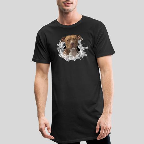 American Staffordshire Terrier *Glas-Loch* - Männer Urban Longshirt
