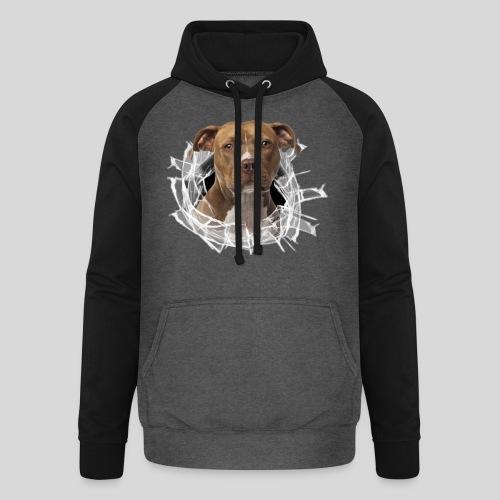 American Staffordshire Terrier *Glas-Loch* - Unisex Baseball Hoodie