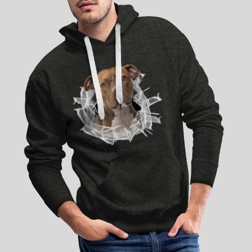 American Staffordshire Terrier *Glas-Loch* - Männer Premium Hoodie