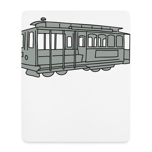 San Francisco Cable Car - Mousepad (Hochformat)