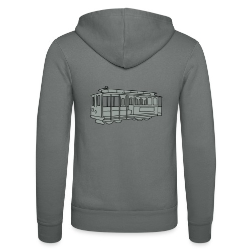 San Francisco Cable Car - Unisex Kapuzenjacke von Bella + Canvas