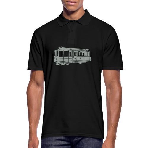 San Francisco Cable Car - Männer Poloshirt