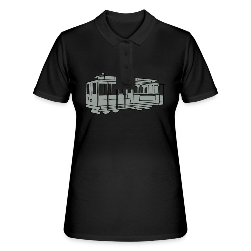 San Francisco Cable Car - Frauen Polo Shirt