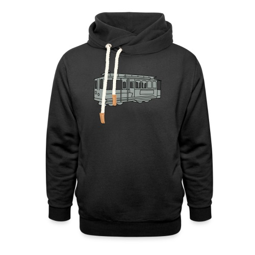 San Francisco Cable Car - Schalkragen Hoodie