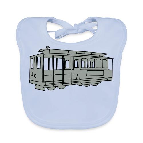San Francisco Cable Car - Baby Bio-Lätzchen