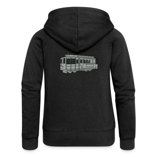 San Francisco Cable Car - Frauen Premium Kapuzenjacke