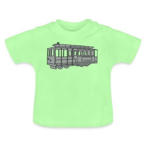 San Francisco Cable Car - Baby T-Shirt