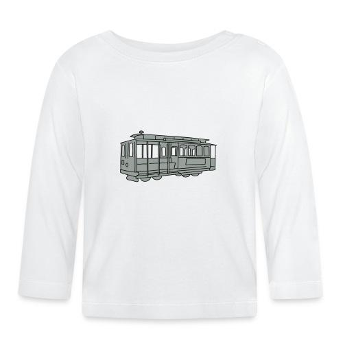 San Francisco Cable Car - Baby Langarmshirt