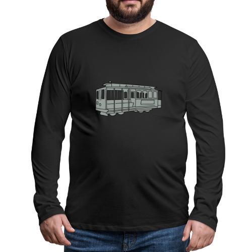San Francisco Cable Car - Männer Premium Langarmshirt