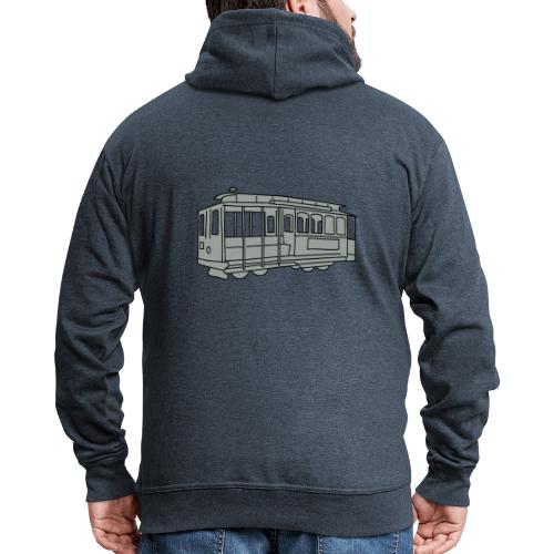 San Francisco Cable Car - Männer Premium Kapuzenjacke