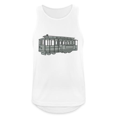 San Francisco Cable Car - Männer Tank Top atmungsaktiv