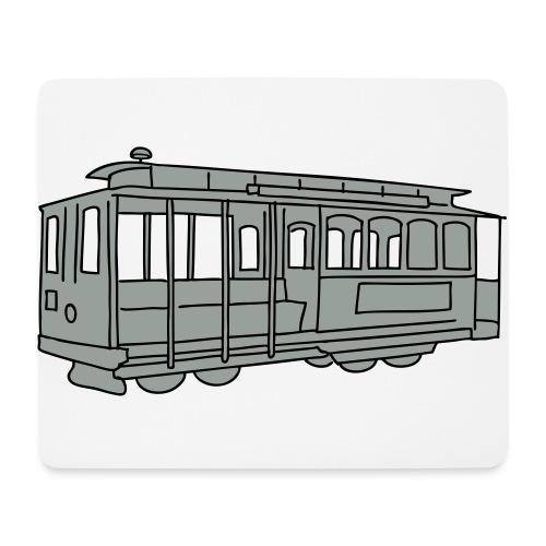 San Francisco Cable Car - Mousepad (Querformat)