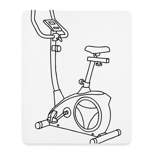 Heimtrainer Trimmdich-Rad - Mousepad (Hochformat)