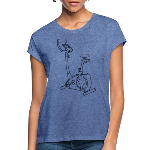 Heimtrainer Trimmdich-Rad - Frauen Oversize T-Shirt
