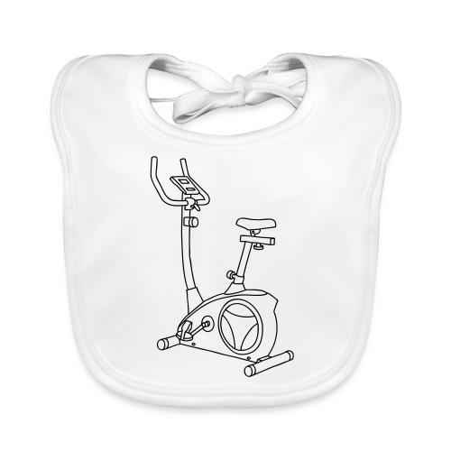 Heimtrainer Trimmdich-Rad - Baby Bio-Lätzchen