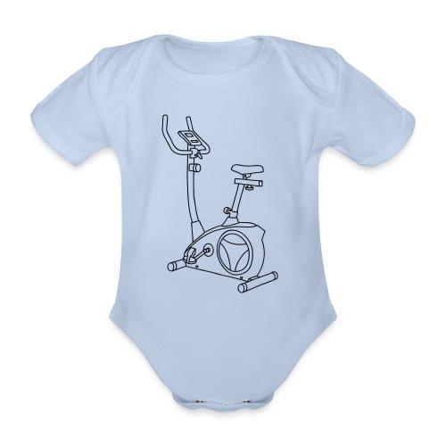 Heimtrainer Trimmdich-Rad - Baby Bio-Kurzarm-Body