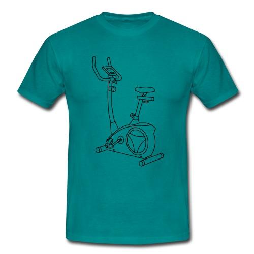 Heimtrainer Trimmdich-Rad - Männer T-Shirt