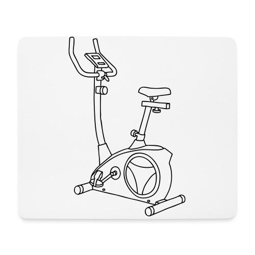 Heimtrainer Trimmdich-Rad - Mousepad (Querformat)