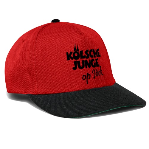 Kölsche Junge Op Jöck (Weiß) Jungs aus Köln Unterwegs - Snapback Cap