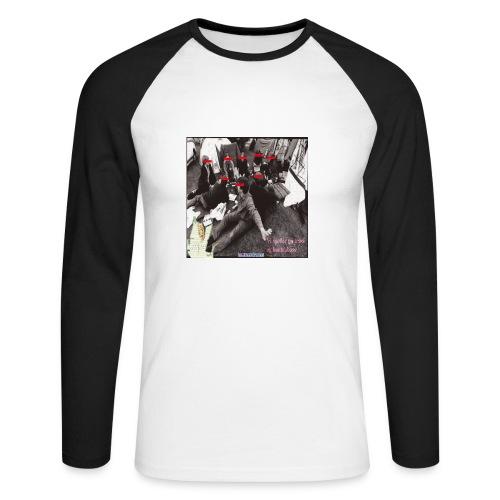 Prasvapa - Herrer - Langermet baseball-skjorte for menn
