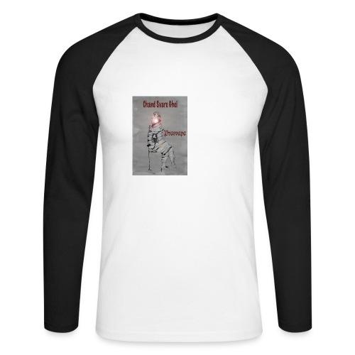 Prasvapa - bag - Langermet baseball-skjorte for menn