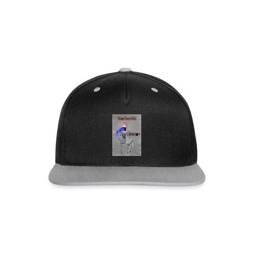 Prasvapa - bag - Snapback-caps med kontrast
