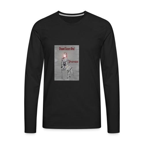 Prasvapa - bag - Premium langermet T-skjorte for menn