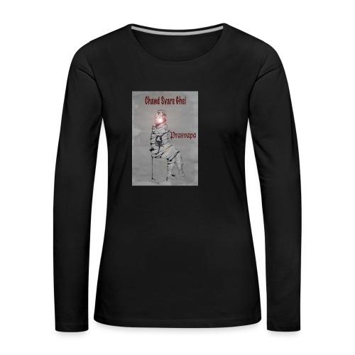 Prasvapa - bag - Premium langermet T-skjorte for kvinner