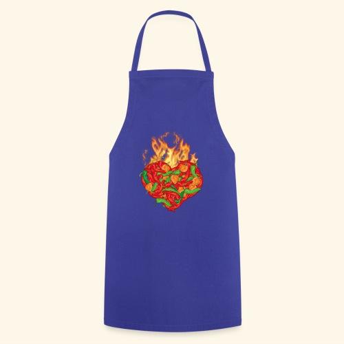 Geschenkidee für Chili Fans: Chili Heart T-Shirt - Kochschürze