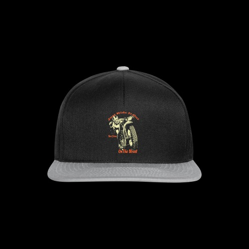 Just Ride It Out - Snapback Cap