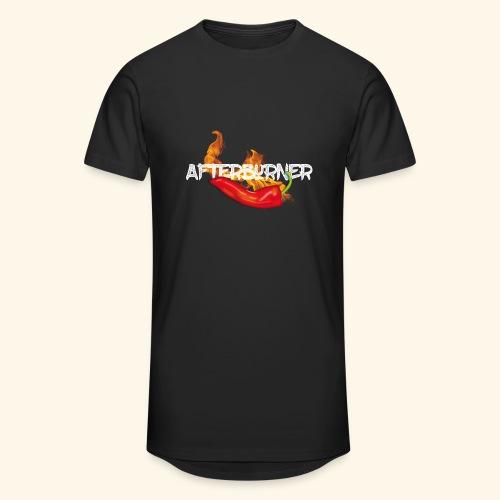 Afterburner Chili T-Shirt - Männer Urban Longshirt