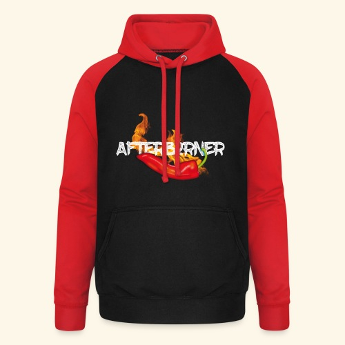 Afterburner Chili T-Shirt - Unisex Baseball Hoodie