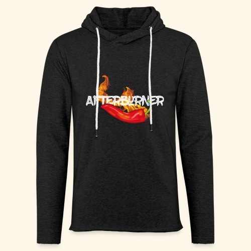 Afterburner Chili T-Shirt - Leichtes Kapuzensweatshirt Unisex