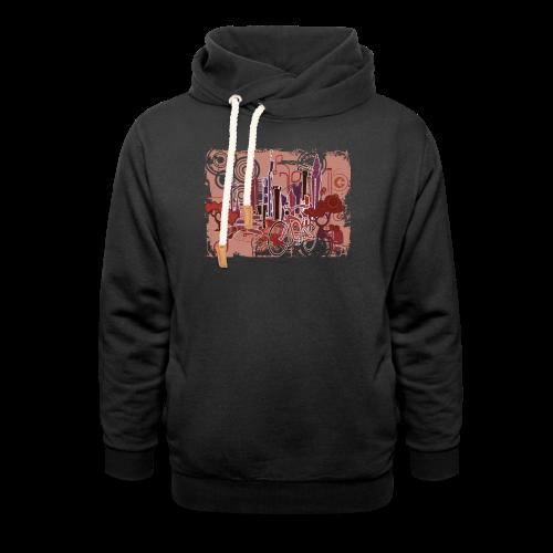 FFM - urban life - Schalkragen Hoodie