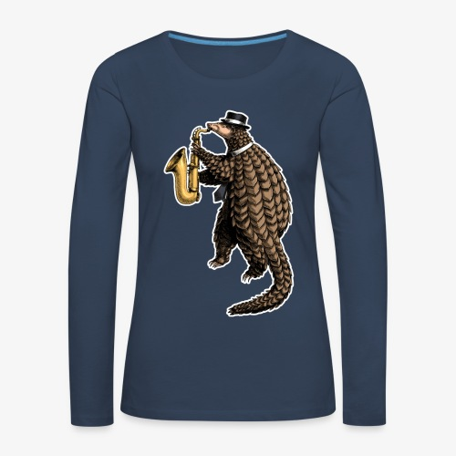 Cool Pangolin for dark T