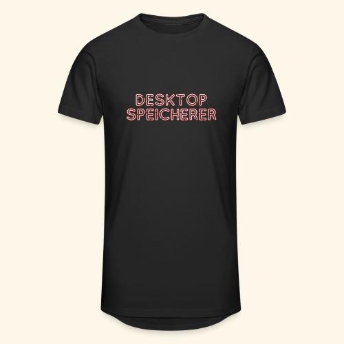 Lustiges Nerd-T-Shirt Desktopspeicherer - Männer Urban Longshirt