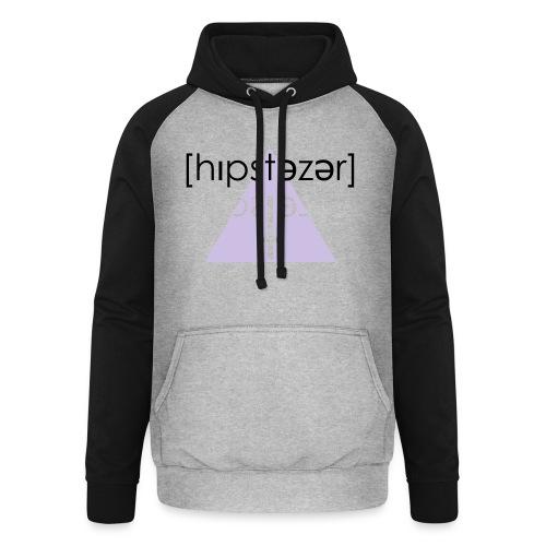Hipstezer - Kreuz - Unisex Baseball Hoodie