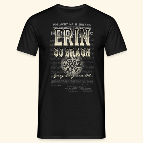 Erin go bragh T Shirt Design - Männer T-Shirt