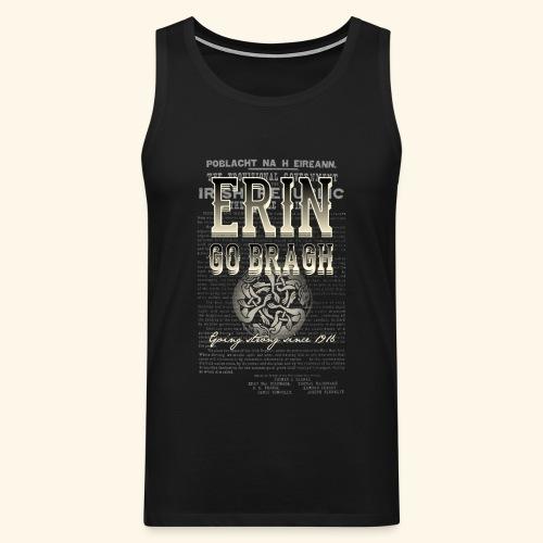 Erin go bragh T Shirt Design - Männer Premium Tank Top