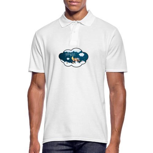 Gute Nacht Schafe zählen - Männer Poloshirt