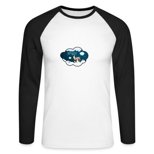 Gute Nacht Schafe zählen - Männer Baseballshirt langarm